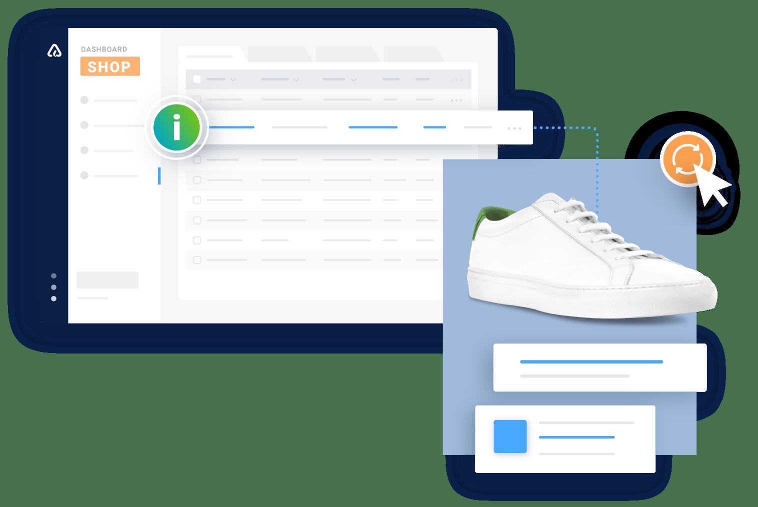 Aktueller Product Content für den eCommerce mit authorized.by®